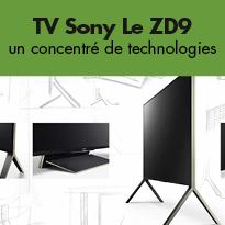 Des téléviseurs<br>au design<br>haut de gamme<br>chez Sony