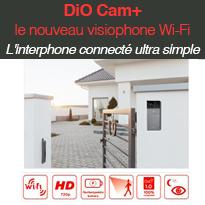DiO Cam+ le nouveau visiophone Wi-Fi