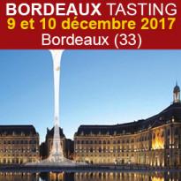 Bordeaux Tasting 2017<br>les 9 et 10 décembre
