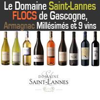 VINS ET SPIRITUEUX<br>DE GASCOGNE<br>Domaine Saint-Lannes