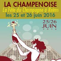 La Champenoise<br>La Fête du<br>Champagne<br>à Reims