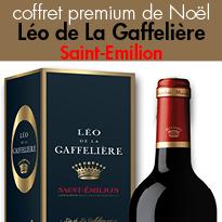 Coffret premium de Noël<br>Léo de La Gaffelière<br>Saint-Emilion