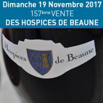 19 Novembre 2017<br>157ème<br>Vente des Hospices<br>de Beaune