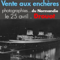 Vente aux enchères<br>Photographies<br>du Normandie
