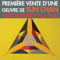 Première vente<br>d'une oeuvre<br>de Sun Chan<br>chez Sotheby's New York