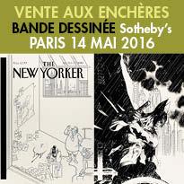 Bande Dessinée<br>Vente à Paris<br>Samedi 14 Mai 2016