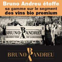Bruno Andreu étoffe sa gamme sur le segment des vins Bio Premium