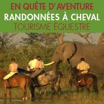 randonnées équestres inédites<br>avec CHEVAL D'AVENTURE