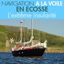 Nord-ouest de l'Écosse<br>aventure originale<br> à bord d'un voilier