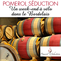 Pomerol Séduction <br> Un week-end à vélo dans le Bordelais