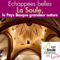 Echappées belles<br>La Soule<br>Pays Basque