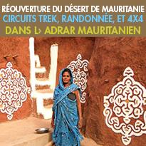 Randonnée, Trek...<br>Réouverture du désert de Mauritanie<br>avec Point Afrique