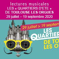Les quartiers d'été de Toulouse les Orgues