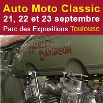 Auto<br>Moto Classic<br>21, 22 et 23 septembre<br>Toulouse