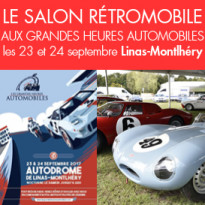 Le Salon Rétromobile<br>aux Grandes Heures<br>Automobiles (91)
