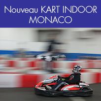 KART INDOOR<br>à MONACO<br>Jusqu'au 10 février