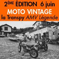 Mardi 7 juin<br>Deuxième édition<br>de la Transpy<br>AMV Légende