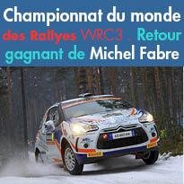 Michel Fabre<br>retour gagnant<br>après 27 ans d'arrêt