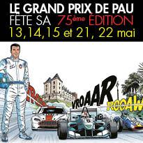 Sport automobile<br>le Grand prix de Pau<br>fête son <br>75e anniversaire