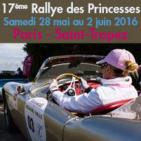17ème Rallye des Princesses<br>Richard Mille<br>Paris / Saint-Tropez