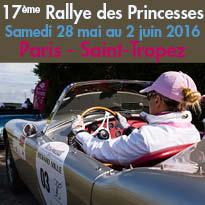 17ème Rallye des Princesses<br>Richard Mille<br>Paris / Saint-Tropez