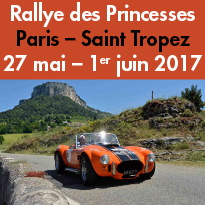 Rallye<br>100% féminin<br>Rallye des Princesses<br>du 28 mai au 1er juin