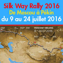 Edition 2016<br>Silk Way Rally<br>De Moscou à Pékin