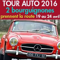 TOUR AUTO 2016<br>2 Bourguignonnes<br>prennent la route