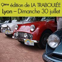 30 juillet<br>la Traboulée<br>véhicules anciens<br>Lyon (69)