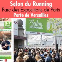 Salon du Running<br>du 5 au 7 avril<br>Paris