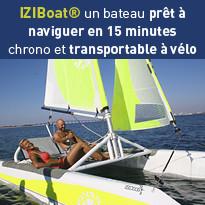 IZIBoat® bateau prêt à naviguer en 15 minutes