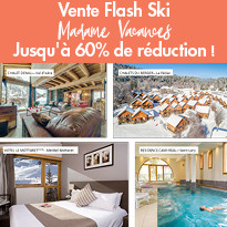 Vente Flash Ski Madame Vacances