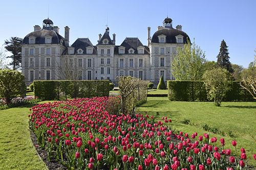 Domaine de Cheverny<br>C\'est le printemps<br>Val de Loire