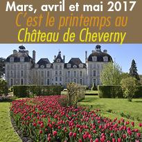 Domaine de Cheverny (41)<br>C'est le printemps<br>Val de Loire