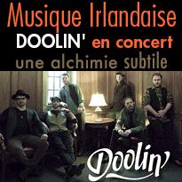 Evènement<br>Doolin'<br>en tournée en France !