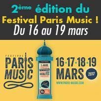 Du 16 au 19 mars<br>2ème édition<br>du Festival Paris Music