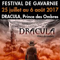 Festival de Gavarnie (65)<br>du 25 juillet / 6 août<br>Dracula<br>Prince des Ombres
