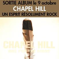 Sortie de l'album <br>de Chapel Hill <br>le 9 octobre 2013