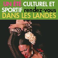 Les rendez-vous<br>culturels et sportifs<br>de l'été 2016<br>dans les Landes (40)
