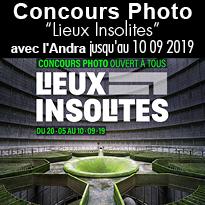 """Concours Photo<br>""""Lieux Insolites""""<br>avec l'Andra"""