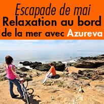 3 jours de relaxation<br>ponts de mai<br>Bretagne côté Sud<br>avec Azureva