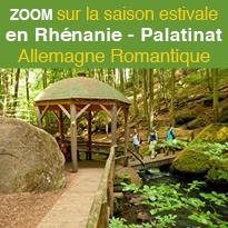 La saison estivale<br>de la Rhénanie-Palatinat<br>à découvrir