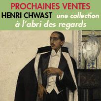 Le 20 octobre<br>Ventes aux enchères<br>Sotheby's<br>collection exceptionnelle<br>Henri Chwast