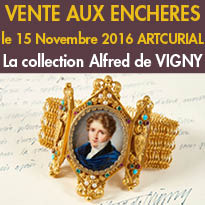 Collection<br>Alfred de VIGNY<br>Vente chez Artcurial Paris<br>15 Novembre 2016