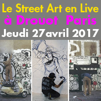 Drouot<br>Performances Street Art<br>27 avril 2017<br>Paris