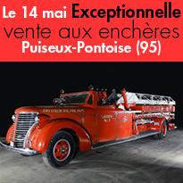 Vente aux enchères<br>Dimanche 14 mai<br>Puiseux-Pontoise 95