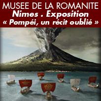 Nimes<br>Du 6 avril<br>au 6 octobre 2019<br>« Pompéi,<br>un récit oublié »