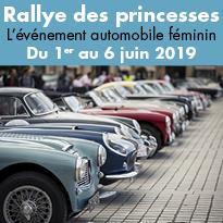 Rallye<br>des princesses<br>du 1er<br>au 6 Juin 2019