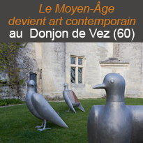 le Donjon<br>de Vez<br>L'art<br>contemporain<br>grandeur nature