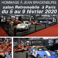 Aguttes à rétromobile 2020 hommage à Jean Brandenburg